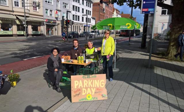 Parking Day 2017 in Großbuchholz-Kleefeld