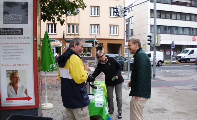 07.10.2017 Grüner Infostand am Kantplatz