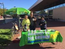 15.10.2017: Grüne am Roderbruchmarkt